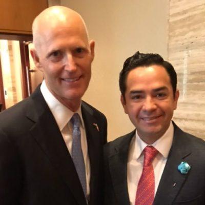 Con el objetivo de eliminar 'warnings', participa 'Chanito' Toledo en Cumbre Latinoamericana de Líderes Políticos en Miami