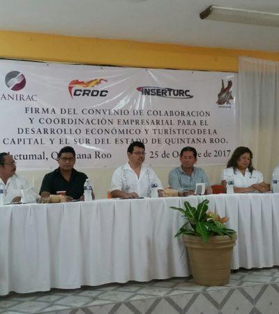 Integran empresarios bloque para lograr ser escuchados en la elaboración de proyectos de desarrollo en el sur de QR