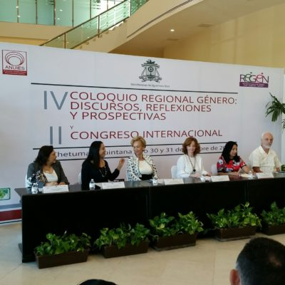 Piden que políticas públicas tras alerta de género emitida para municipios de QR tengan fundamento en estudios e investigaciones, advierten en coloquio regional