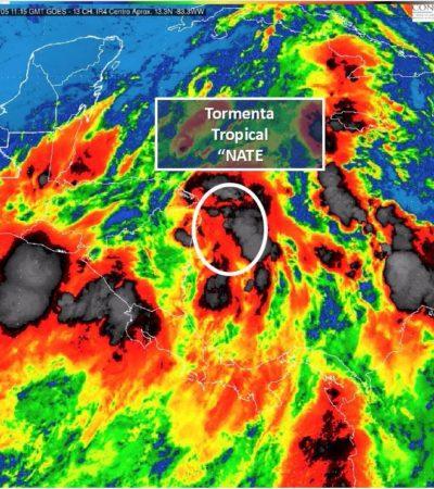DEJA 'NATE' ESTELA NEGRA EN CENTROAMÉRICA: Tormenta tropical provoca 15 muertos en Nicaragua y 2 en Costa Rica; avanza hacia QR