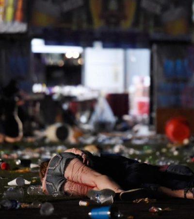 TERROR EN LAS VEGAS: Tiroteo en medio de festival deja al menos 58 muertos y más de 500 heridos