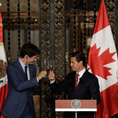 Coinciden México y Canadá que se requiere modernizar el TLCAN no darle fin como amenaza Trump