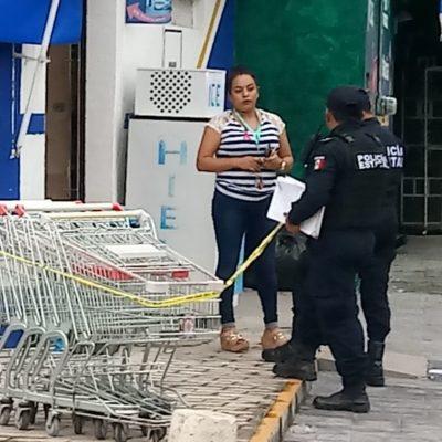 OTRA VEZ LE PEGAN 'SUSTO' A 'BAROUDI': Asaltan tienda en el centro de Chetumal