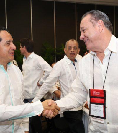 CUMBRE DE CRUCERISTAS EN MÉRIDA: En los próximo 15 meses, QR recibirá dos mil cruceros con más de 5.7 millones de turistas, confirma Carlos Joaquín