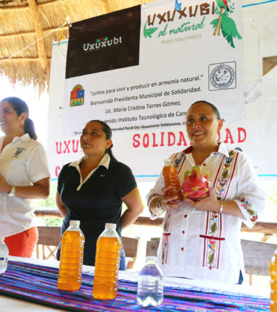 Destaca Alcaldesa Cristina Torres acciones para impulsar desarrollo económico de los solidarenses