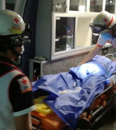 Hallan a hombre lesionado y encintado en Cuna Maya