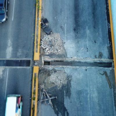 A partir del próximo lunes reabrirán un carril del paso a desnivel de Bonfil