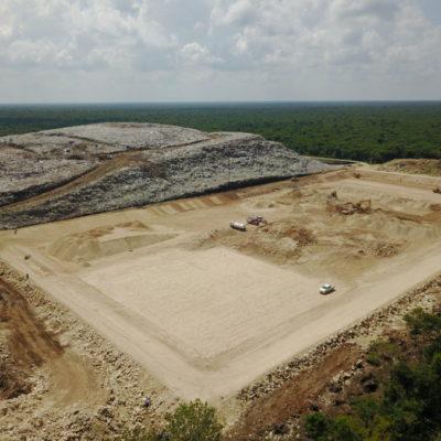 QUE NO HABRÁ CONTINGENCIA: En pocos días se entregará la tercera celda del relleno sanitario de Cancún, asegura Alcalde