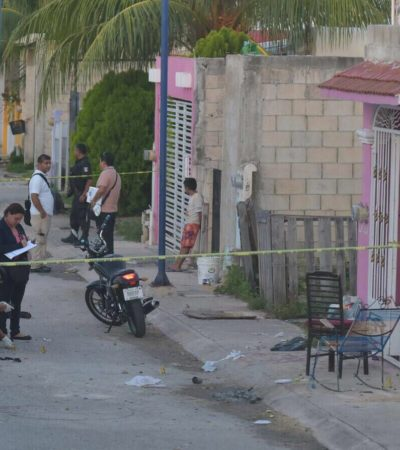 EJECUTAN A UNA PERSONA EN VILLAS DEL MAR III: Suman 152 casos en lo que va del año en Cancún; octubre pinta para el mes más violento con 16 crímenes en 14 días