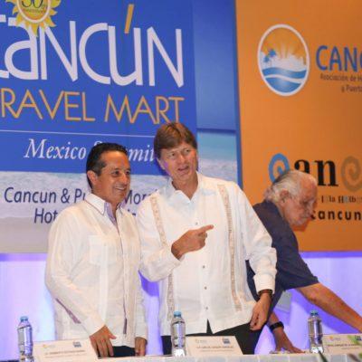 INAUGURAN EL CANCÚN TRAVEL MART: Turismo, herramienta para combatir la desigualdad, dice el Gobernador