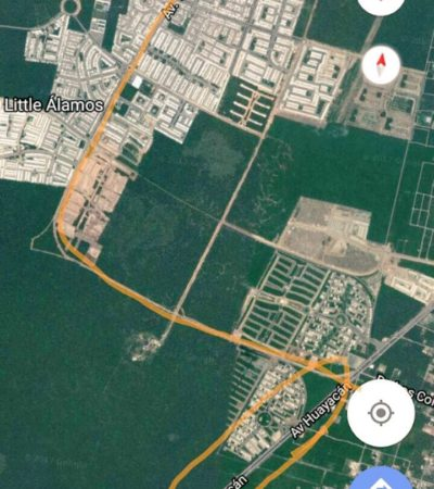 PROPONEN VECINOS OPCIONES DE MOVILIDAD EN CANCÚN: Exigen ciudadanos vía alterna a Las Torres