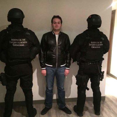Detienen en Las Lomas a presunto operador financiero de 'El Chapo' Guzmán