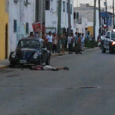EJECUTADO EN LA REGIÓN 74: Sicarios le disparan tres veces a un joven por la espalda en Cancún