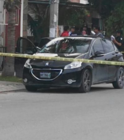 LOS 'DEMONIOS' ANDAN SUELTOS EN CANCÚN: Sicarios en moto ejecutan a empresario en el interior de vehículo en la Región 223