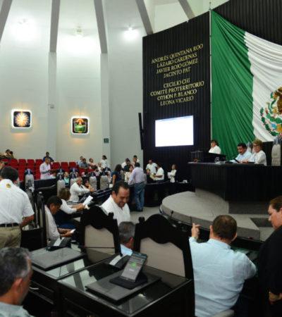 Presentan diputados punto de acuerdo para que Oficial Mayor de BJ explique sobre la contratación de 101 patrullas