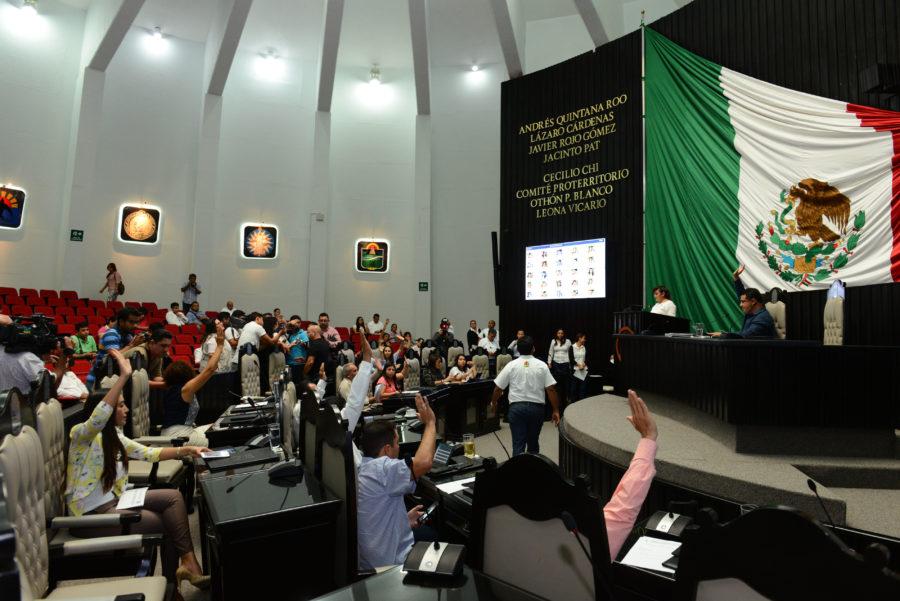 Rechazan diputados por mayoría solicitud de reelección del Magistrado numerario del TSJ, Mario Aguilar Laguardia