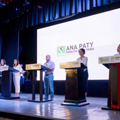 CINCO POR EL PRECIO DE UNO: Rinde informe la bancada del PVEM en un sólo evento en Cancún