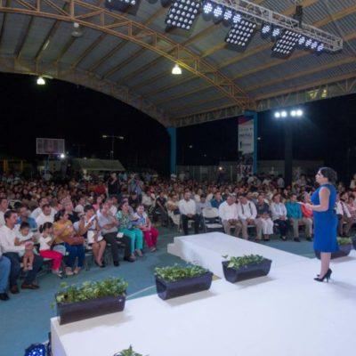 Presenta informe diputada Mayuli Martínez Simón