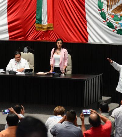 Designa Congreso a nuevos funcionarios dentro del Sistema Local Anticorrupción
