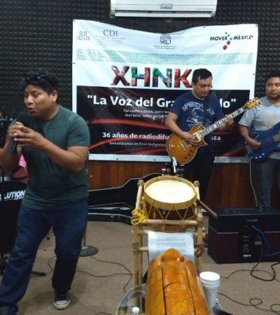 Promueven jóvenes nuevas tendencias en la música en maya