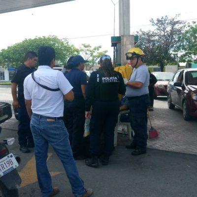 Despojan de 200 mil pesos a gerente de gasolinera en Chetumal