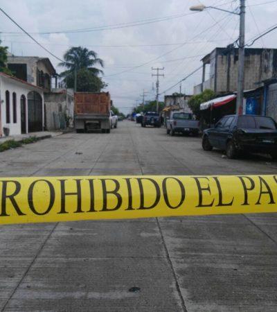 Intento de asalto acaba con herido de bala en la Región 102 de Cancún