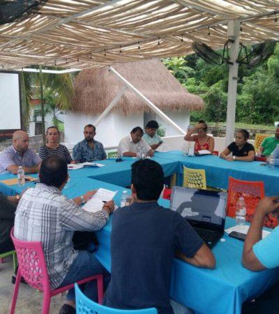 Reunión de hoteleros y restauranteros de Bacalar con diputado 'verde' para analizar posible decreto de ANP