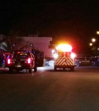 VIERNES DE BALEADOS EN CANCÚN: Atacan a dos personas en las regiones 225 y 248; uno muere