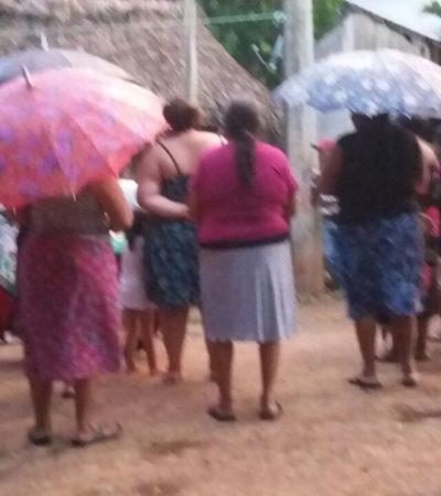 Enoja a comunidad maya cobranza de banco extinto