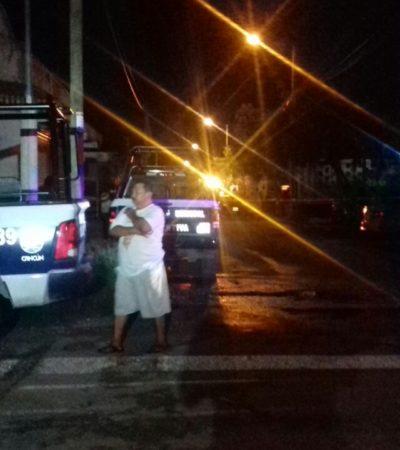 DOBLE EJECUCIÓN EN CANCÚN: Irrumpen en vivienda de la Región 247 y dejan 2 muertos