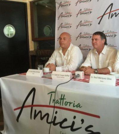INVERSIONISTAS CONFÍAN EN CANCÚN: Anuncian apertura de nuevo restaurante de comida italiana