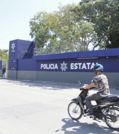 Con más de 180 elementos, empieza a funcionar base de la Policía Estatal en Cancún