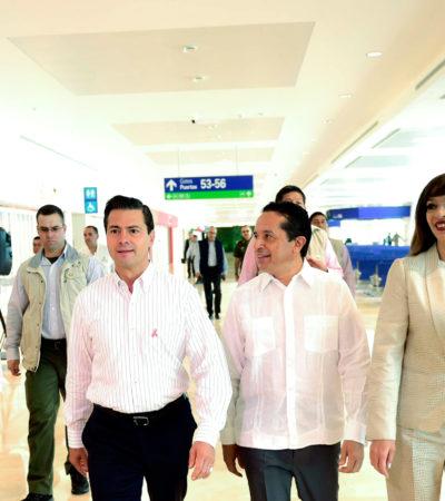 EL AEROPUERTO DE CANCÚN, EL MÁS GRANDE DE MÉXICO: Inauguran Terminal 4 con una inversión de 4 mil 700 mdp