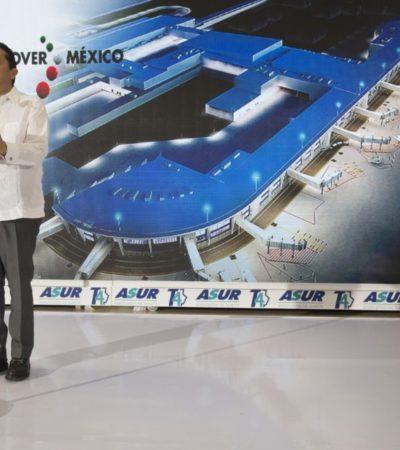 """Terminal 4 """"ensancha la puerta"""" a más oportunidades: Carlos Joaquín"""
