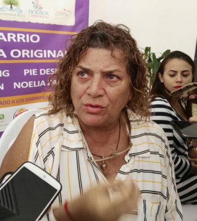 """""""MI OPINIÓN AGREDE LOS INTERESES DE ALGUNAS PERSONAS"""": Niega Denisse de Kalafe depredación en Holbox"""