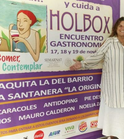 Anuncian sexta muestra gastronómica en Holbox
