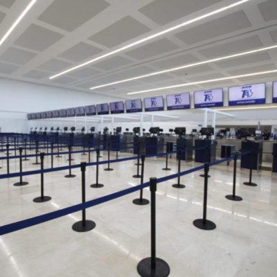VIDEO | PUERTAS ABIERTAS EN LA TERMINAL 4 DE CANCÚN: Inversión de mil mdp para ampliar la infraestructura del aeropuerto de Cancún