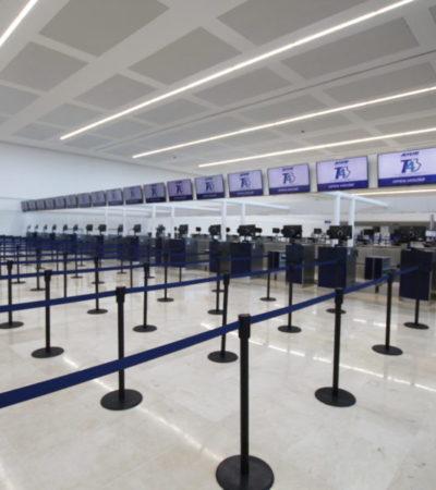 VIDEO   PUERTAS ABIERTAS EN LA TERMINAL 4 DE CANCÚN: Inversión de mil mdp para ampliar la infraestructura del aeropuerto de Cancún