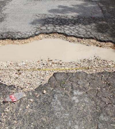 MEGABACHES, SALDO DE LLUVIAS EN CANCÚN: Regiones completas, calles interiores, avenidas principales y cruceros sufren grave deterioro