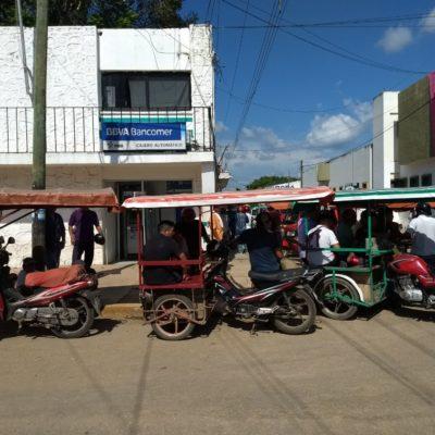 Nuevamente mototaxistas impiden transporte colectivo en José María Morelos