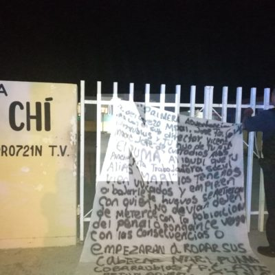 Amenazan a director de cárcel de Playa del Carmen con narcomanta