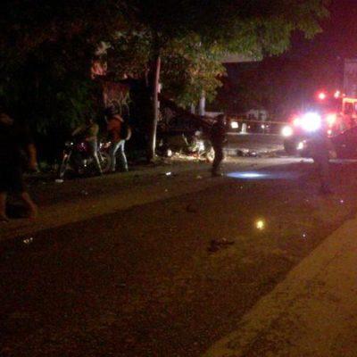 Fallece conductor que atropelló y mató a infante en la Avenida Nichupté de Cancún