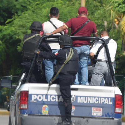 LLEVAN POLICÍAS A PRENSA LOCAL 'DE PASEO': Organizan nuevo 'show' para grupo selecto de medios de comunicación en Cancún