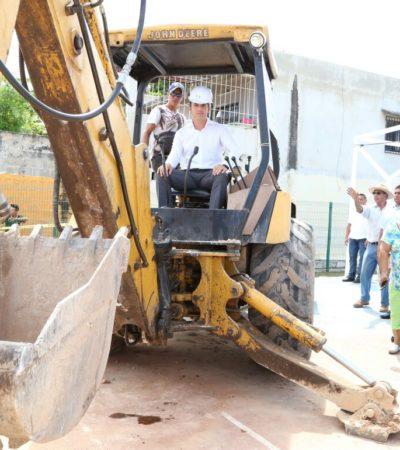 Dice Alcalde que la construcción de infraestructura urbana es parte de la estrategia de seguridad para Cancún