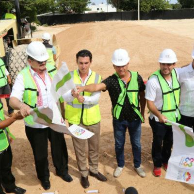 Privilegian mantenimiento de espacios deportivos en Cancún