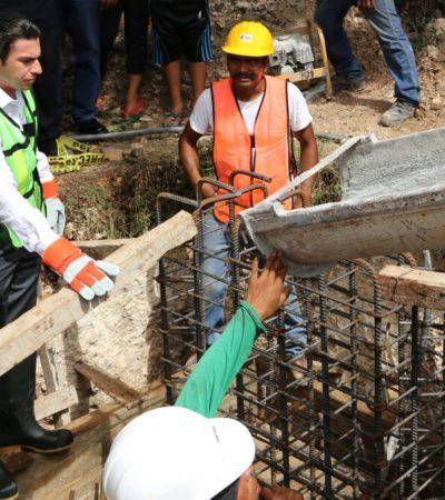 Inician construcción de domo deportivo en la Región 260