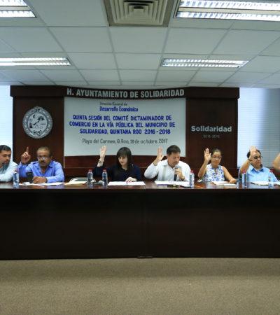 Regulariza Gobierno de Solidaridad comercio en la vía pública