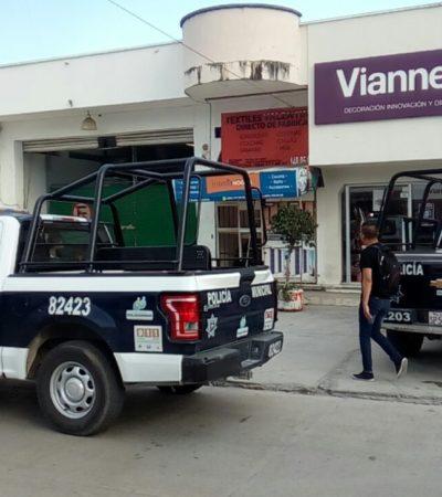 ATRACAN TIENDA DE ROPA: Asaltantes encierran a personal de Vianney de Playa y se llevan parte del inventario