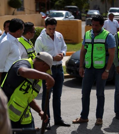 Obras municipales son vigiladas por ciudadanos, destaca Remberto Estrada