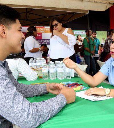 Ofrecen más de mil vacantes a cancunenses con el programa municipal 'Contratación Exprés'